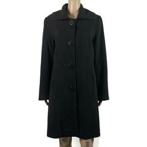 Kristen Blake Trench Coat Wool Cashmere Blend